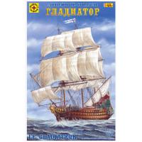 упаковка игры Линейный корабль Гладиатор 1:200