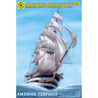 упаковка игры Корабль Америго Веспуччи 1:150