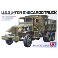 упаковка игры Американский 2,5-тонный трехосный грузовик 6x6 1:35