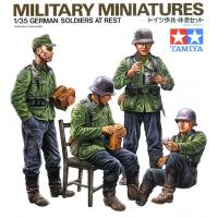 упаковка игры Немецкие солдаты на обеде 1:35