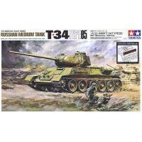 упаковка игры Танк Т34/85 с 85 мм. пушкой 1944 г. 1:35