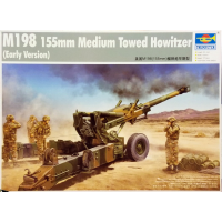 упаковка игры Пушка 155-мм гаубица М198 1:35