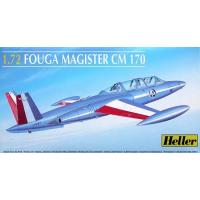 упаковка игры Самолет Fouga Magister CM 170 1:72