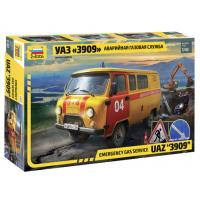 упаковка игры УАЗ «3909» Аварийно-газовая служба 1:43