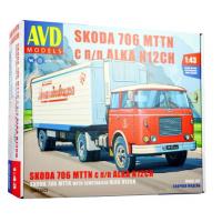 упаковка игры SKODA-706 MTTN с полуприцепом ALKA-N12CH 1:43