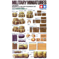 упаковка игры Modern US Military Equipment 1:35