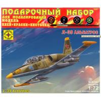 упаковка игры Самолет Л-39 Альбатрос подарочный набор 1:72