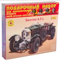 упаковка игры Автомобиль Bentley 4,5L подарочный набор 1:24