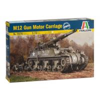 упаковка игры САУ M12 Gun Motor Carriagе 1:72