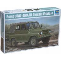 упаковка игры Автомобиль УАЗ-469 1:35