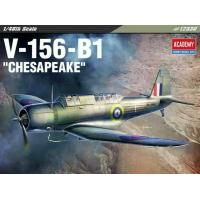 упаковка игры Самолёт V-156-B1 Chesapeake 1:48