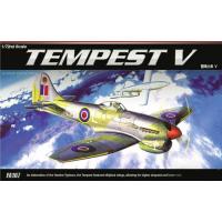 упаковка игры Самолет Tempest V 1:72