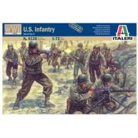 упаковка игры Солдаты WWII- U.S. Infantry 1:72