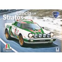 упаковка игры Автомобиль LANCIA STRATOS HF 1:24