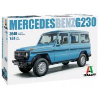 упаковка игры MERCEDES BENZ G230 1:24