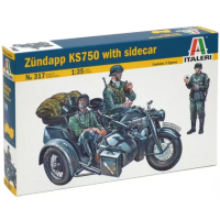 упаковка игры Мотоцикл Цундапп KS750 1:35