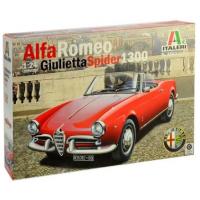упаковка игры Автомобиль ALFA ROMEO GIULIETTA SPIDER 1300 1:24