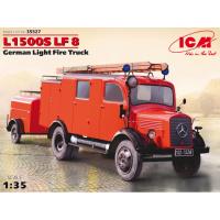 упаковка игры L1500S LF 8, Германский легкий пожарный автомобиль 2МВ 1:35
