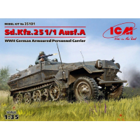 упаковка игры Sd.Kfz.251/1 Ausf.A, Германский бронетранспортер ІІ МВ 1:35