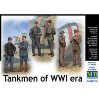 упаковка игры Фигуры Танкисты Первой мировой войны 1:35