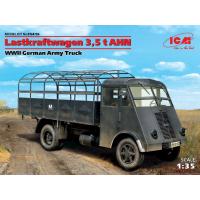 упаковка игры Lastkraftwagen 3,5 t AHN, грузовой автомобиль германской армии 2МВ 1:35