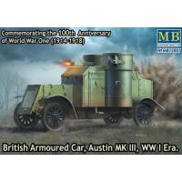 упаковка игры Британский бронированный автомобиль «Остин, МК III» 1 МВ 1:72