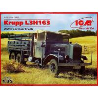 упаковка игры Krupp LH163, немецкий грузовой автомобиль, 2МВ 1:35