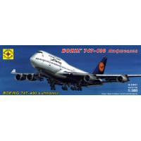 упаковка игры Боинг 747-400 Люфтганза 1:300