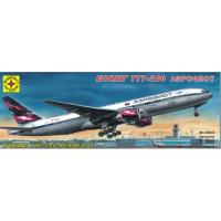 упаковка игры Боинг 777-200 Аэрофлот 1:300