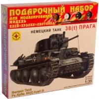упаковка игры Танк 38(t) Прага подарочный набор 1:35