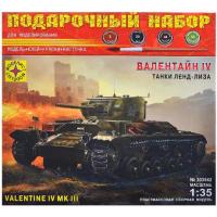 упаковка игры Танк Валентайн IV подарочный набор 1:35