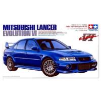 упаковка игры MITSUBISHI LANCER EVOLUTION VI, 1999 г. 1:24