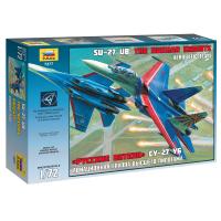 упаковка игры Самолет Су-27 1:72