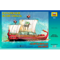 упаковка игры Карфагенский боевой корабль 1:72