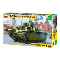 упаковка игры Танк Т-35 1:35