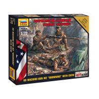 упаковка игры Американский пулемет Браунинг 1:72