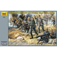 упаковка игры Немецкая пехота Первой Мировой войны 1:72