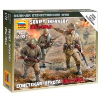 упаковка игры Советская пехота 1:72