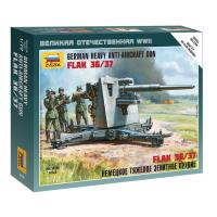 упаковка игры Немецкая зенитка Flak 88 мм 1:72