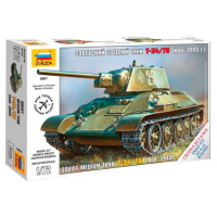 упаковка игры Танк Т-34/76 1:72