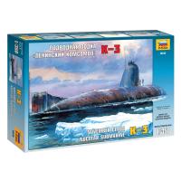 упаковка игры Подводная лодка К-3 1:350
