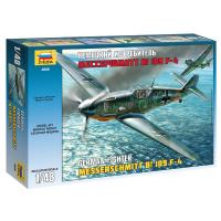 упаковка игры Самолет Мессершмитт BF-109F4 1:48