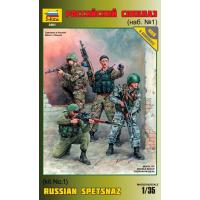 упаковка игры Российский спецназ №1 1:35