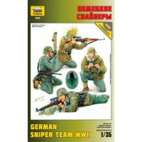упаковка игры Немецкие снайперы 1:35