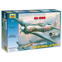упаковка игры Советский истребитель ЛА-5ФН 1:48
