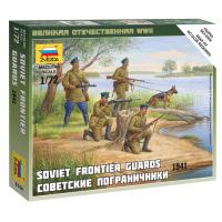 упаковка игры Советские пограничники 1:72