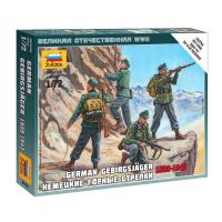 упаковка игры Немецкие горные стрелки 1:72