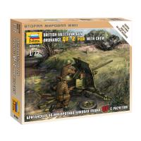 упаковка игры Британская противотанковая пушка 1:72