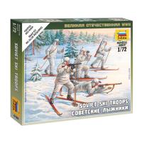 упаковка игры Советские лыжники 1:72