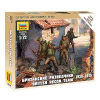 упаковка игры Британские разведчики 1939-1945 1:72